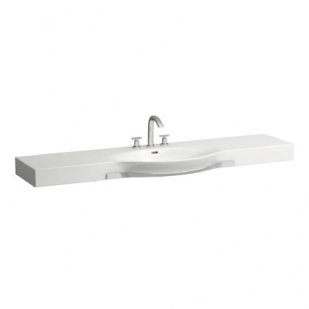 812708 - Laufen Palace 1800mm x 510mm Washbasin With Towel Rail - 8.1270.8